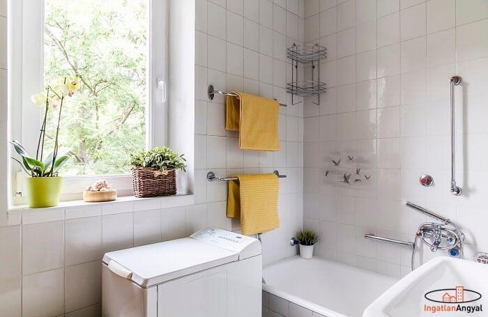 rózsadombi lakás fürdőszoba