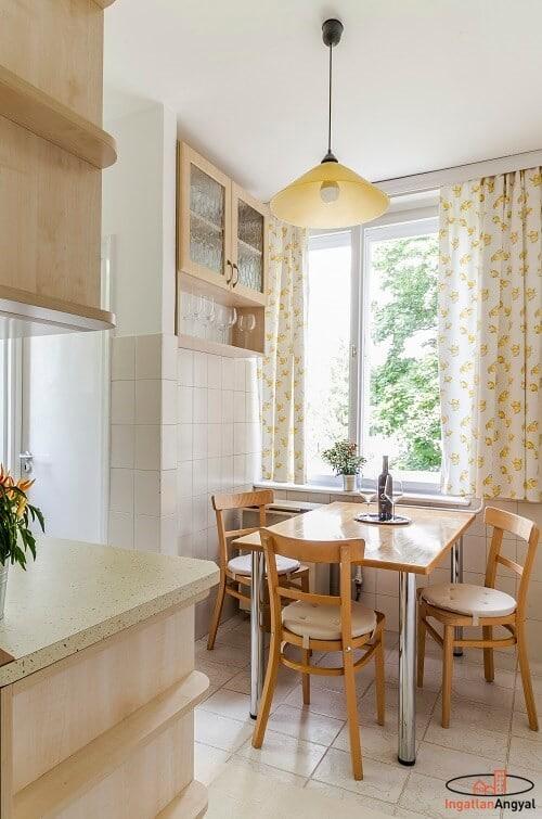 rózsadombi lakás konyha részlet