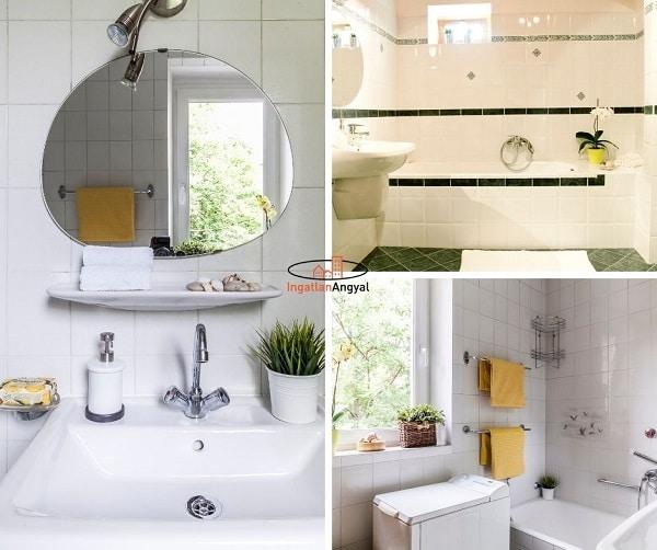 home staging - eladásra felkészített fürdőszoba